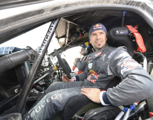 DESPRES CYRIL (fra) PEUGEOT ambiance portrait during the Dakar 2016 Argentina,  Bolivia, Etape 10 / Stage 10,  Belen - La Rioja,  from  January 13, 2016 - Photo Eric Vargiolu / DPPI