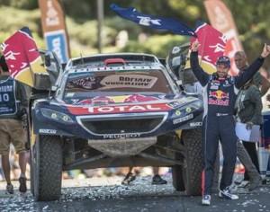 Dakar 2016: víťazný PEUGEOT 2008 DKR a francúzska posádka Stéphane Peterhansel / Jean-Paul Cottret
