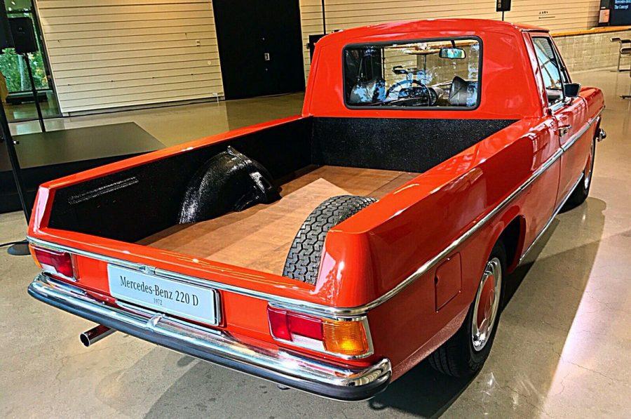 Prv pick up mercedes benz vyrobili u pred viac ako for Mercedes benz louisiana