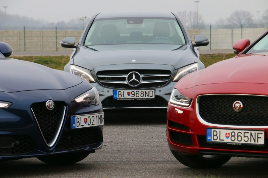 Jaguar xe vs alfa romeo giulia vs mercedes c220d 054 for Alfa romeo vs mercedes benz