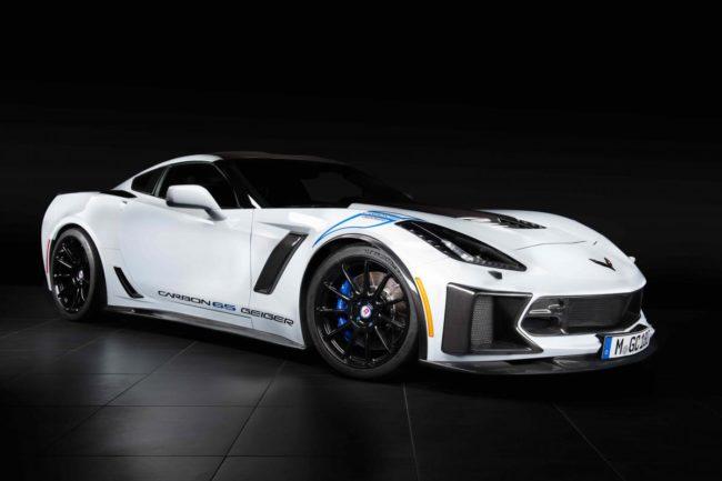 Niečo pre zberateľov – Corvette Z06 Geiger Carbon 65 Edition